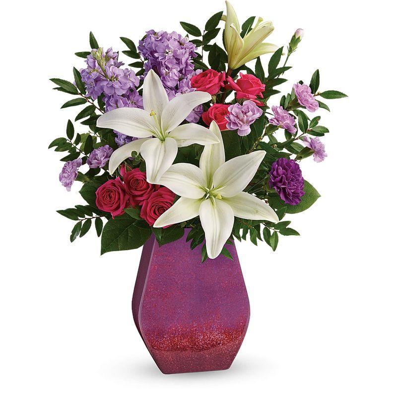 Regal Blossoms Bouquet Edmond Ok Florist Designs By Tammy Local