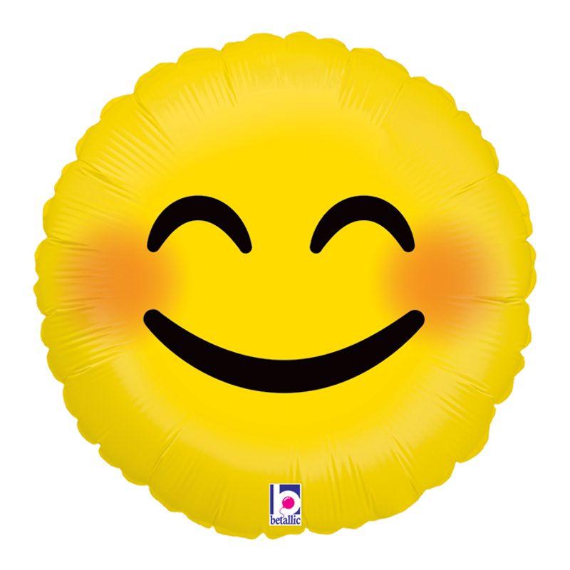 blushing smiley face emoji edmond ok florist designs by tammy