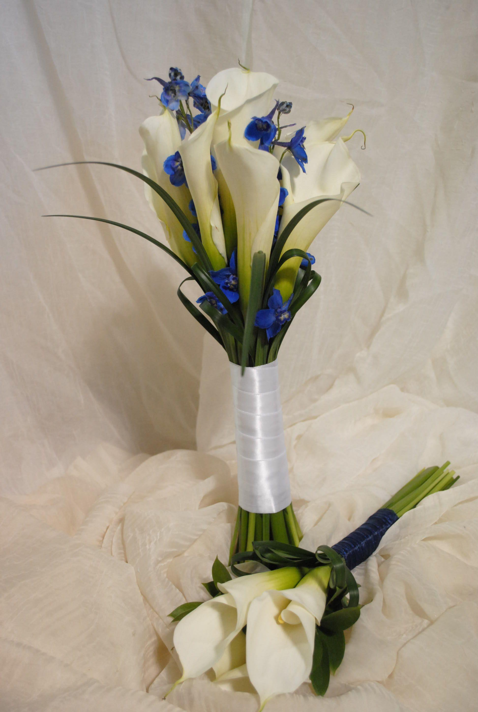 Calla lily and delphinium bouquets destin floral designs destin close window izmirmasajfo
