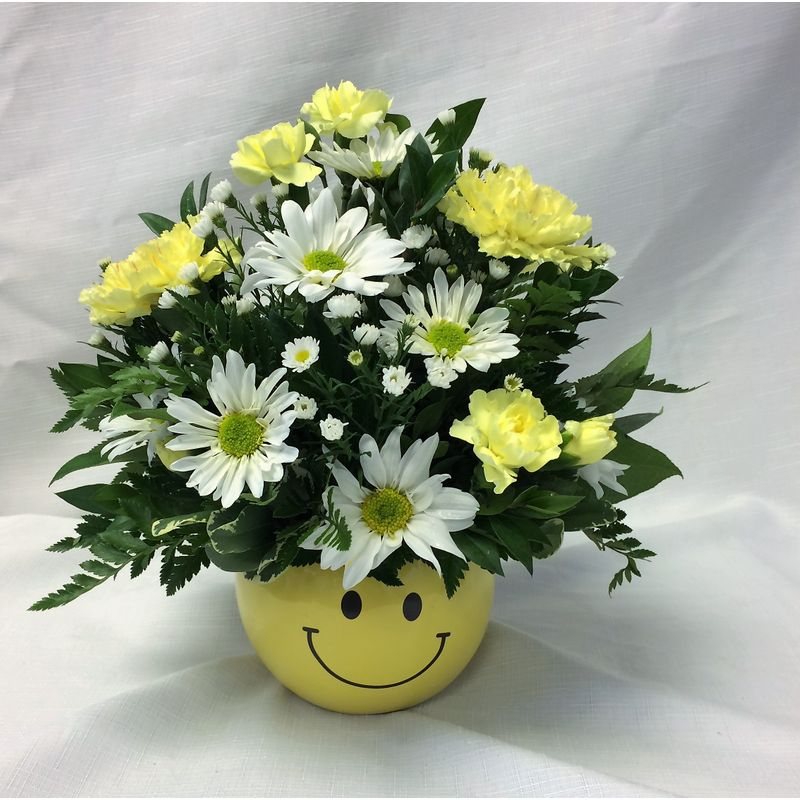 Smiley Face Dicks Flowers Inc Alton Wood River Il Local Florist