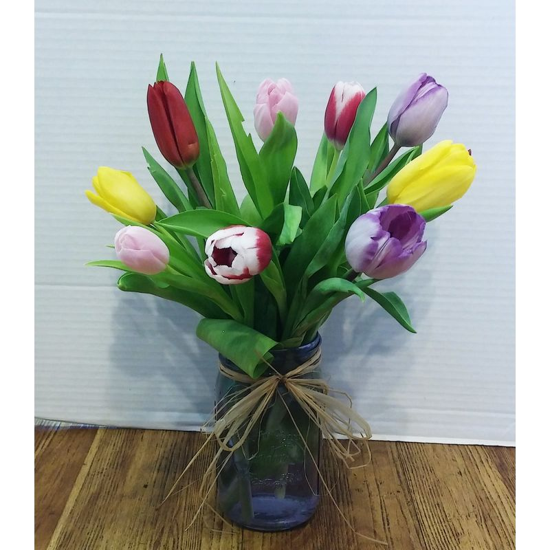 Spring tulips waterloo il florist and flower shop bloomin diehls more views mightylinksfo