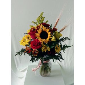 Doss flowers and gifts all a bloom florist local florists best sun flower and red roses av141 in plant city fl doss flowers gifts mightylinksfo
