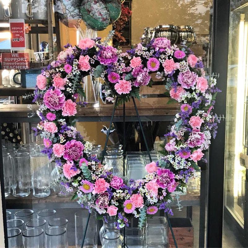 Heart Wreath Chula Vista CA 91914 Florist