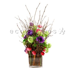 Flowering Forest Floral Art Arrangement in Toronto Ontario, eco|stems