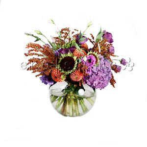 Mixed Seasonal Vase Arrangement in Toronto Ontario, eco|stems