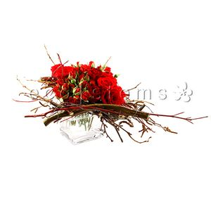 Rose Floral Art Arrangement in Toronto Ontario, eco|stems