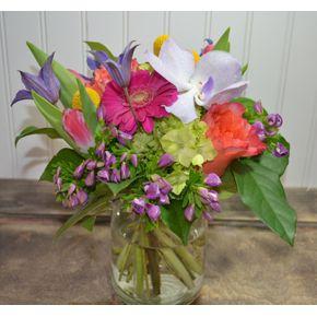 vibrant hand tied in clarendon hills il the english garden flower shop - English Flowers Garden