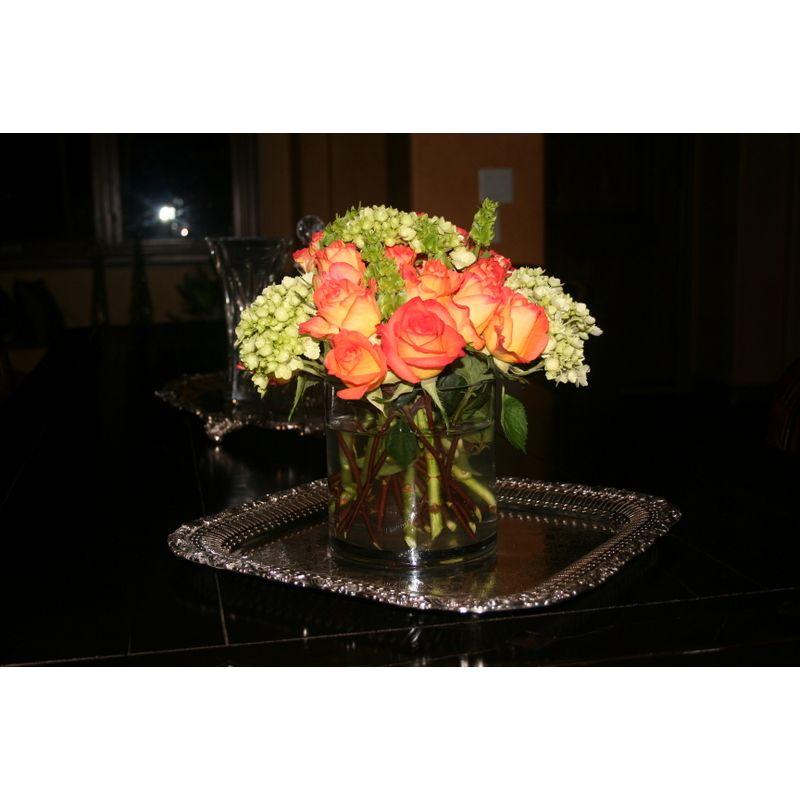 Pretty Orange Estella Flowers Albuquerque Nw