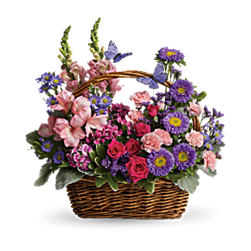 Country Basket Blooms EVA\'S FLOWERS & GIFTS | PREMIUM BOUQUETS AND ...