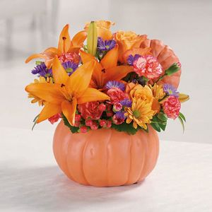 Whiting florist every bloomin thing we are jersey shore flowers pretty pumpkin petals in forked river nj every bloomin thing mightylinksfo