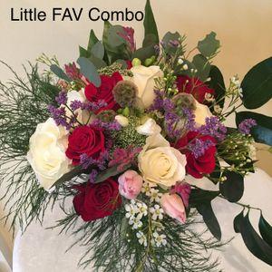 Valentine FAV Rose Combo in Frederick MD, Freesia and Vine