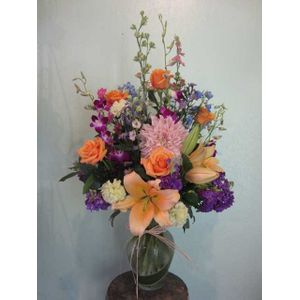 Mixed flower bouquets fleur de lis florist mountain view ca los spring mix 1 e6124 in mountain view california fleur de lis mightylinksfo