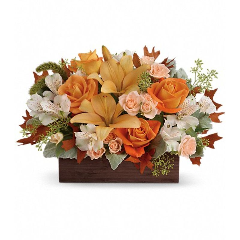 Teleflora S Fall Chic Bouquet Florist In Carlsbad Ca