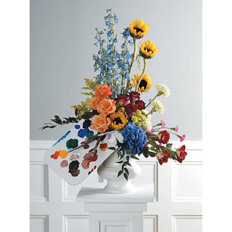 Spring Palette Sparkill Ny Florist Flowers New York Floral