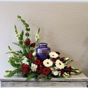 Wreaths For Cremation Urns And Memorial Photo Frames Florida Flowers Scarborough On Flower Shop Local Florist Same Day Flower Delivery