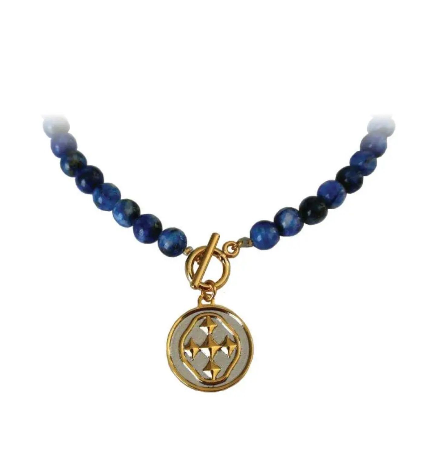 Necklace With Medallion Shield Florist