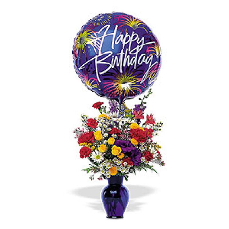 Birthday Fireworks Jacksonville Florida Florist Flowerama