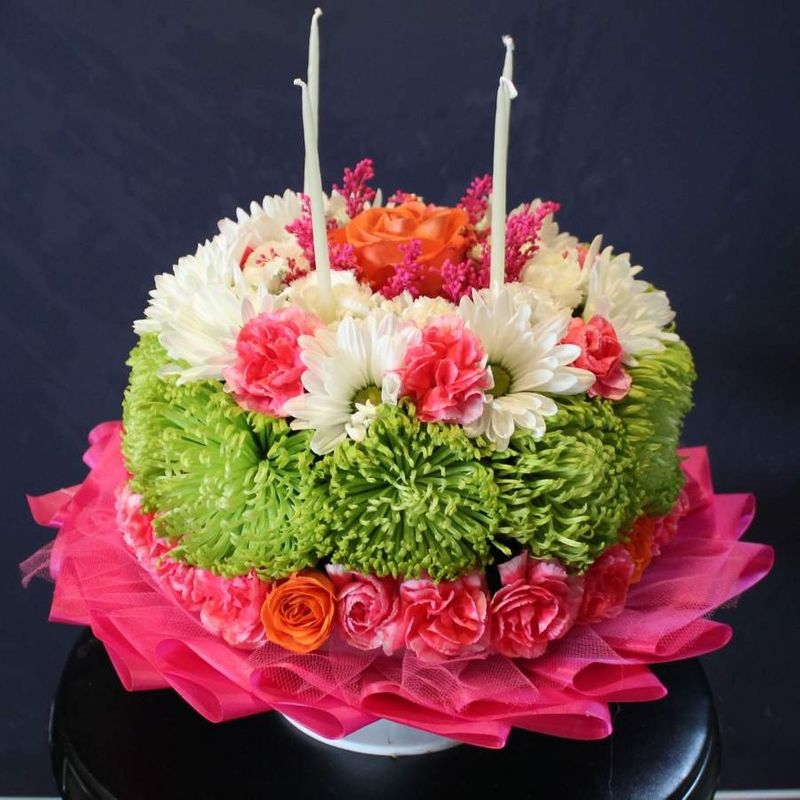 Birthday Cake Brick NJ Florist