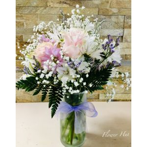 New baby flowers and gifts charlotte florist flower hut celebration bouquet in charlotte nc flower hut charlotte negle Gallery