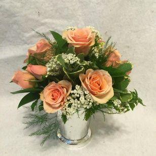 Spray Roses Julep Cup