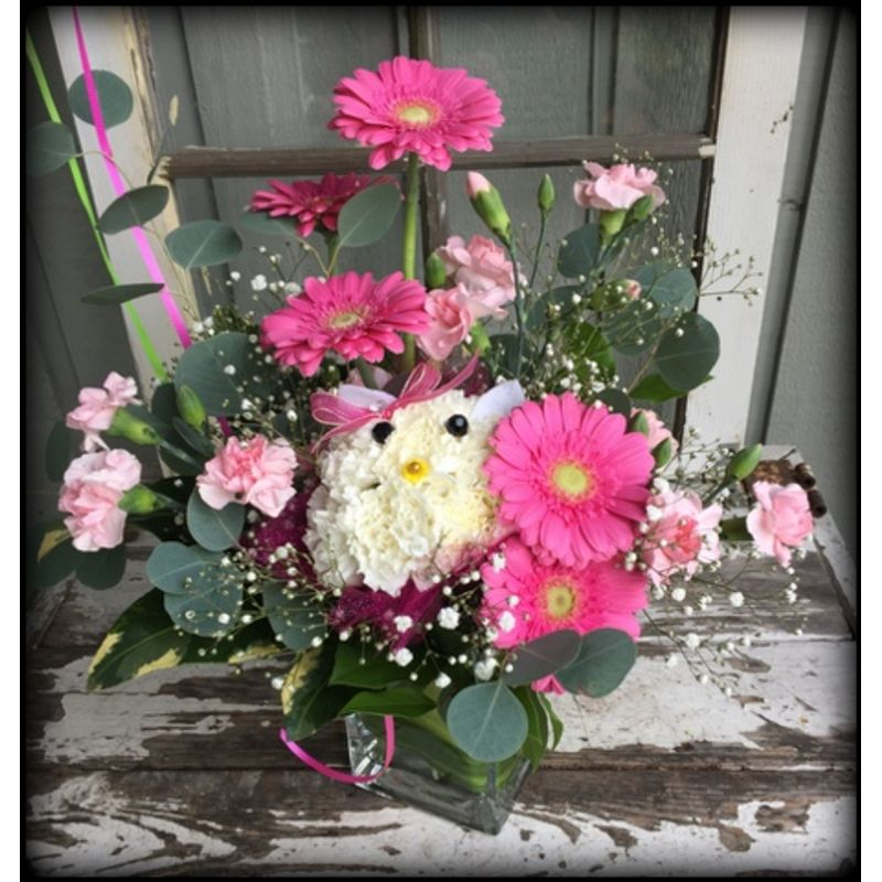Hello Kitty Flowers By Karen Flower Shop Monroe Wa 98272