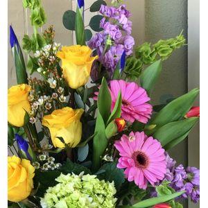 Designer Choice Cheerful Blooms in Logan UT, The Flower Shoppe - Logan