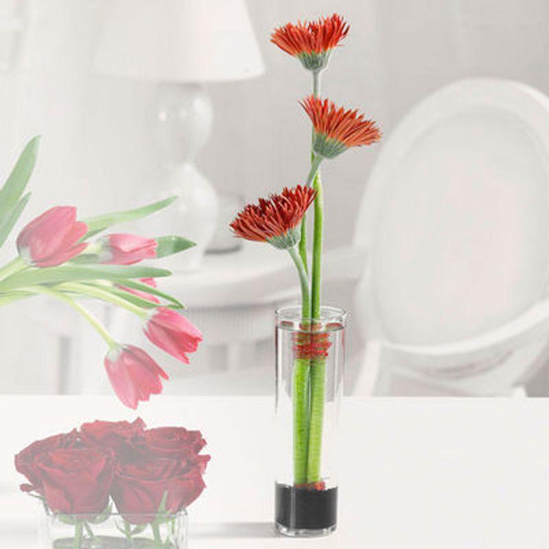 Spider Gerberas In Bud Vase Flowers By Lowery