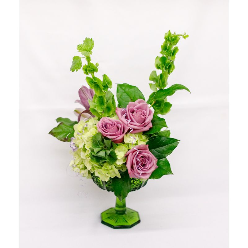 Medium Mixed Bouquet in Antique Gl Vase Muskogee, OK Florist ... on antique baskets with lids, antique serving bowls with lids, antique vases glass, antique vases crystal, glass vase with lids, decorative vase with lids, antique crystal bowls with lids, antique bottles with lids,