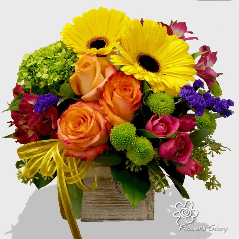 You Are My Sunshine By Flowers Story London Florists