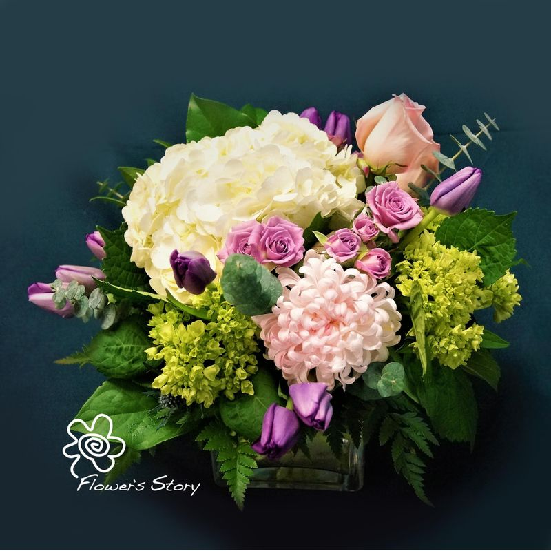 Spring garden by flowers story london florists flower delivery more views mightylinksfo