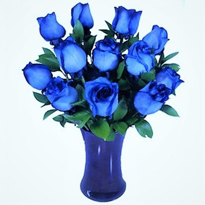 blue bouquet story