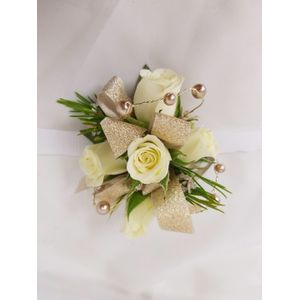 Champagne Toast Wrist Corsage In Fort Wayne Lopshire Flowers