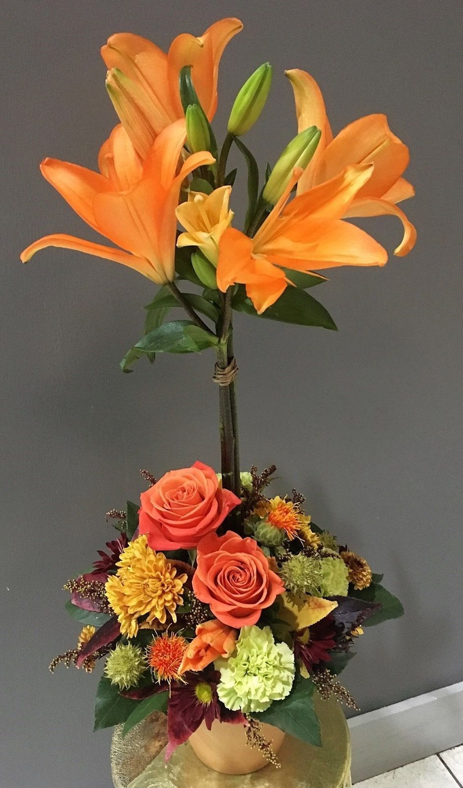 Stand Tall For Fall Marion Florist Fox S Flowers Local Flower Delivery Marion Illinois 62959