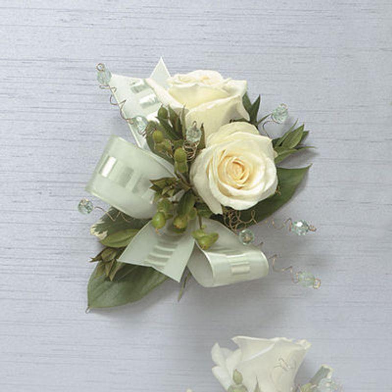 White rose corsage wenatchee florist 98801 full bloom flowers more views mightylinksfo