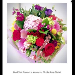 Gardenia Flowers - Vancouver BC Flower Shop