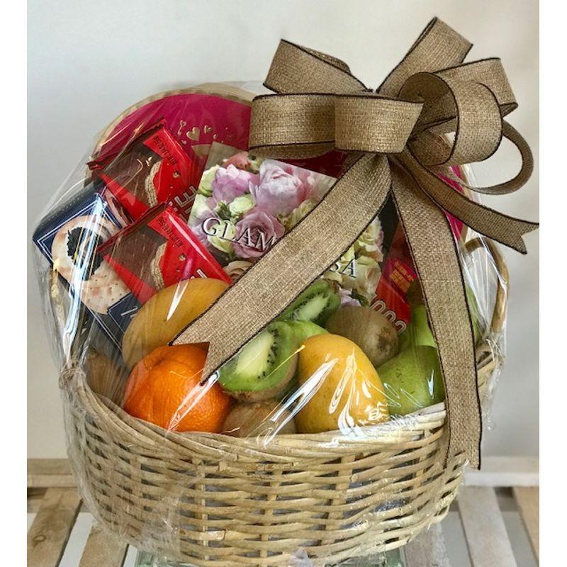 Fruit Basket With Edible Arrangements Maplewood Florist