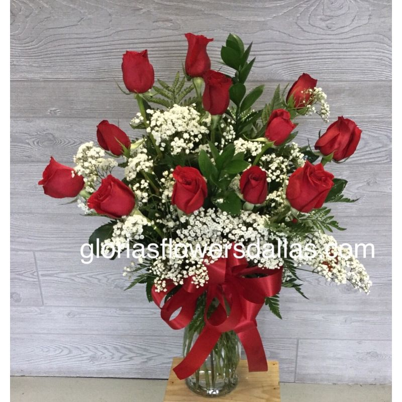 Regular Dozen Roses Gloria's Flowers-Dallas TX 75211