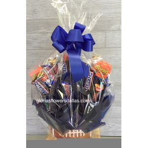 Football Chocolates In Dallas Texas Glorias Flowers