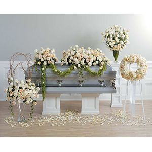 Sympathy and Funeral Flowers for the Casket Gloria's Flowers