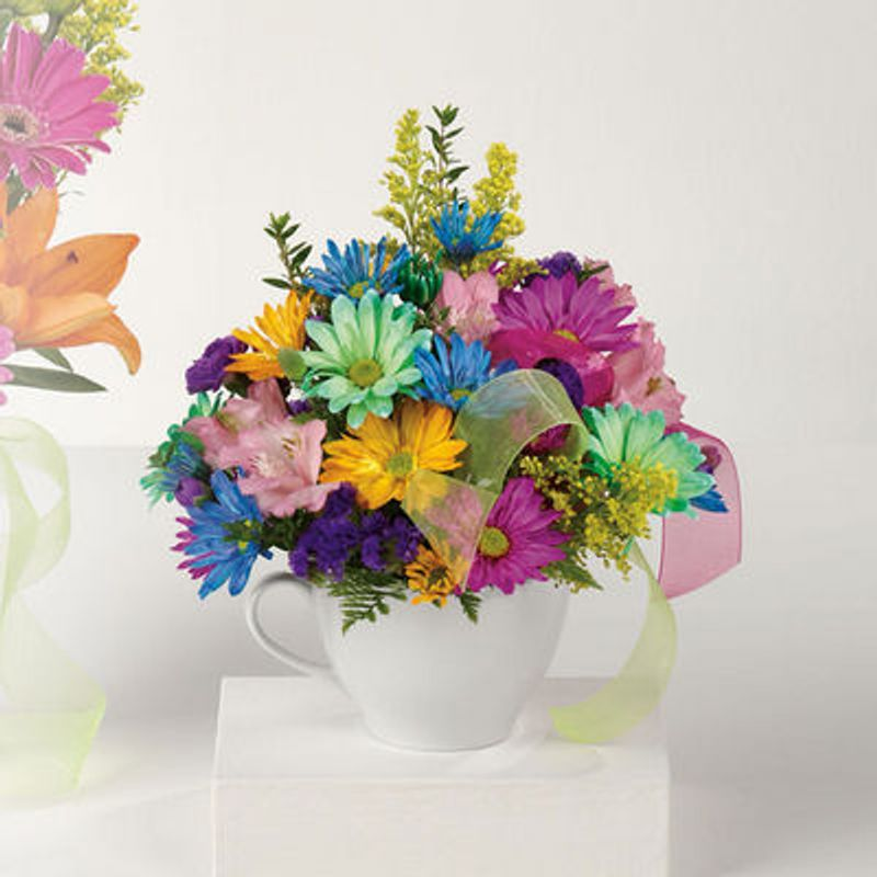 Happy Birthday Mug Spring Florist Spring Texas Florist In Spring