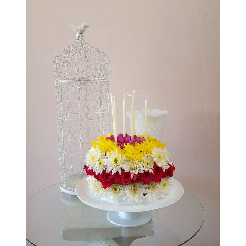 Goodlands Birthday Cake Local Goleta Santa Barbara Florist Same