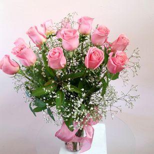 Goodlands Pink Rose Bouquet Local Goleta Santa Barbara Florist