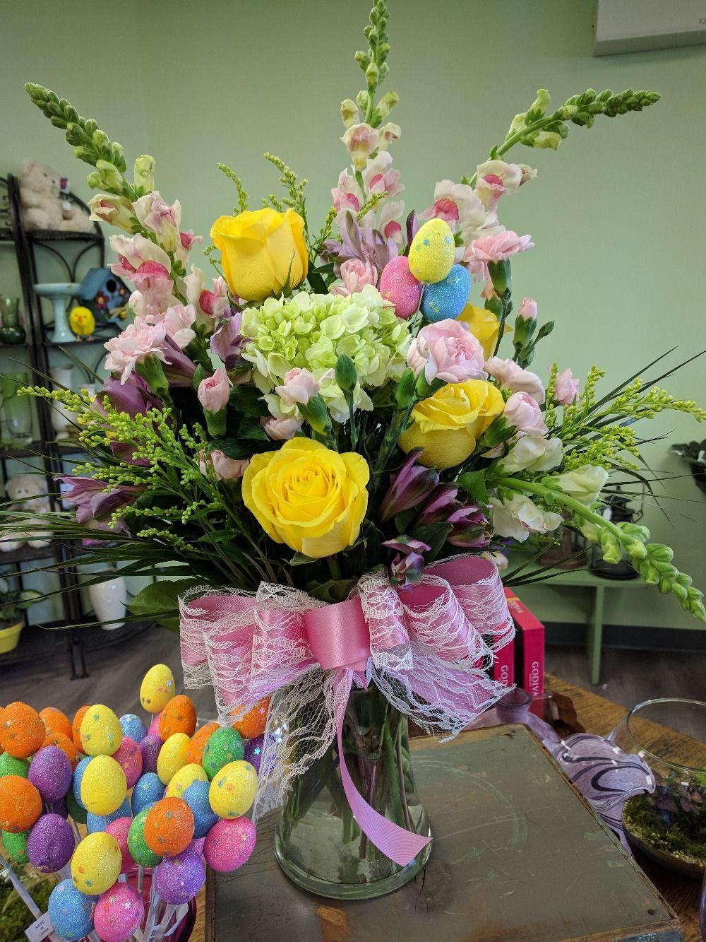Easter Arrangement In Easton PA, Grace Garden Florist