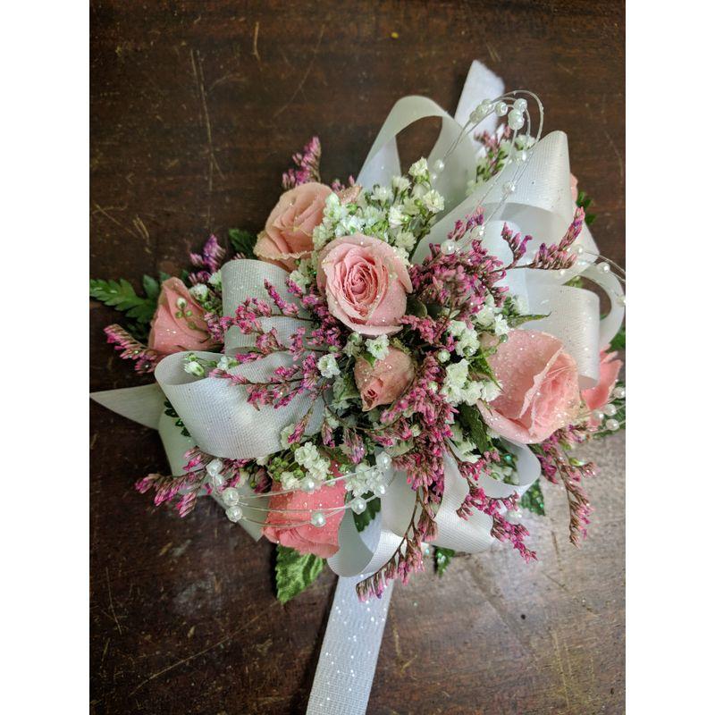 Pretty petite rose corsage grace garden florist easton pa flowers more views mightylinksfo