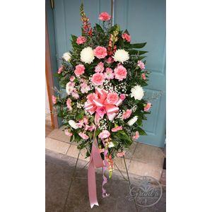 Pink Spray in Port Allen LA, Grant's Flowerworks & Memorials