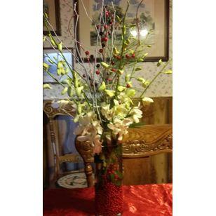 White orchid vase hahns pallister house florist lockport ny white orchid vase mightylinksfo