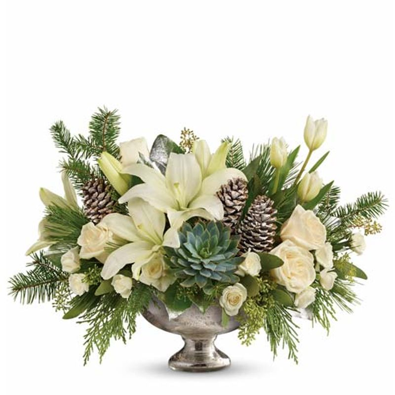 RUSTIC CENTERPIECE Hillcroft Florist: Luxury Flowers Houston