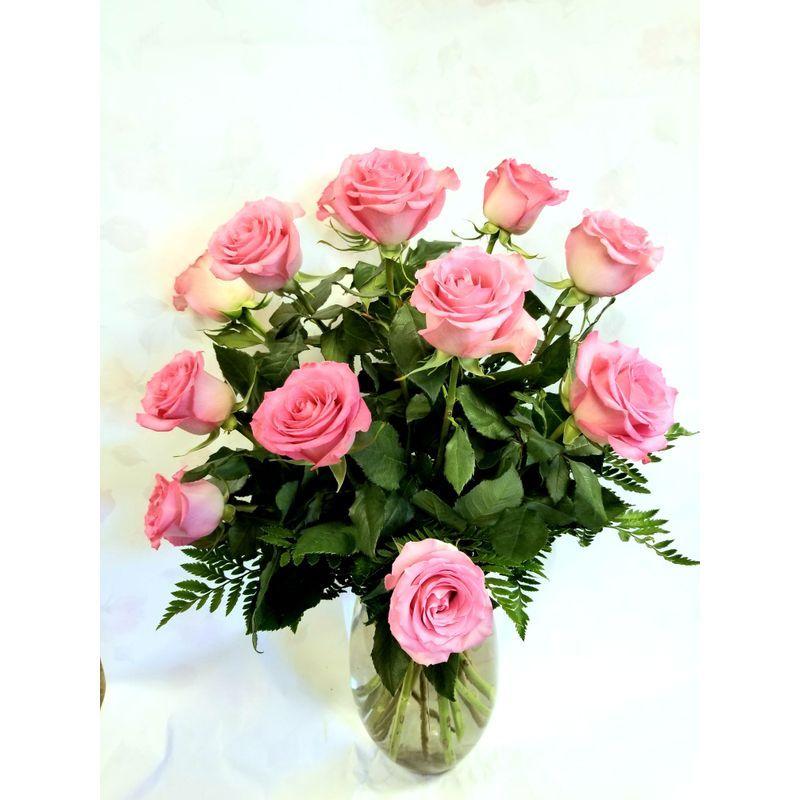 Pink Rose Bouquet Hill S Florist Greenhouse Lindsay Florist Lindsay On