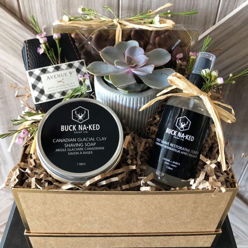 Man Gift Box Hiway Flowers