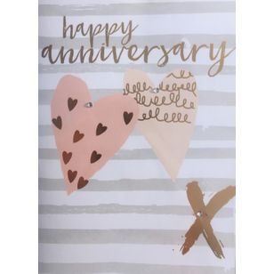 Hugs and kisses anniversary card holton flowers port hope and hugs and kisses anniversary card m4hsunfo